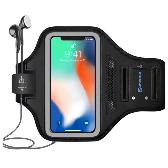 size 40 3ca6c df1f5 IPHONE X WALLET WATERPROOF ARMBAND CASE NWT